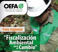 El OEFA realizará foro regional para difundir las acciones de fiscalización ambiental en el departamento de Pasco