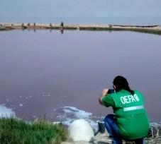 El OEFA interviene en denuncia por disposición inadecuada de aguas residuales en playa Salinas de Chilca