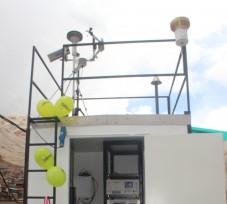 El OEFA implementa una estación fija para la evaluación permanente de la calidad del aire en La Oroya