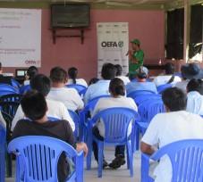 OEFA realizó un taller de trabajo en la Comunidad Nativa de Camisea