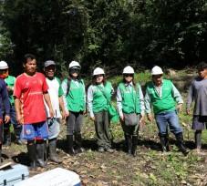 El OEFA continúa supervisando la zona del último derrame de petróleo en Nueva Alianza, Loreto