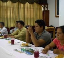 Periodistas de la región San Martín participaron en taller de capacitación organizado por el OEFA