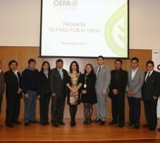 Funcionarios de los gobiernos regionales de Ayacucho y Cusco realizaron pasantía en el OEFA