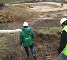 El OEFA ordena paralizar la construcción de pozas de sedimentación de la minera Coimolache para evitar impacto negativo