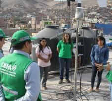 OEFA realizó talleres de inducción a los ciudadanos que acompañen el monitoreo ambiental participativo en el valle del Tambo, Arequipa
