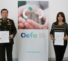 El OEFA suscribe convenio de cooperación interinstitucional con el Instituto Geográfico Nacional