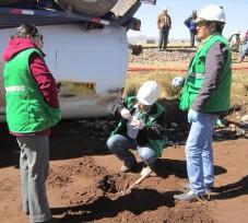 El OEFA supervisa derrame de hidrocarburo ocurrido en Juliaca