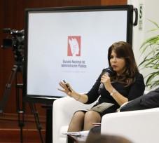 Presidenta del OEFA destaca los retos de la fiscalización ambiental en evento organizado por Servir