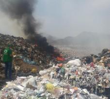 OEFA interviene en la inadecuada disposición de residuos sólidos en el botadero La Tinguiña en Ica