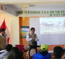 OEFA dictó talleres de Evaluación Ambiental Temprana en Apurímac y Cusco