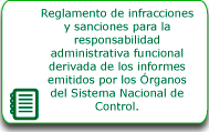 Reglamento de infracciones y sanciones
