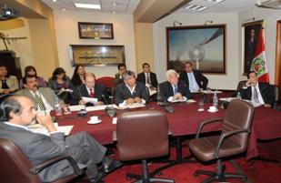 Presidente del OEFA informó al Congreso sobre cumplimiento de la normativa ambiental de la empresa minera Carabayllo S.A.2