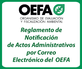 Reglamento de Notificacin de Actos Administrativos por Correo Electrnico del  OEFA