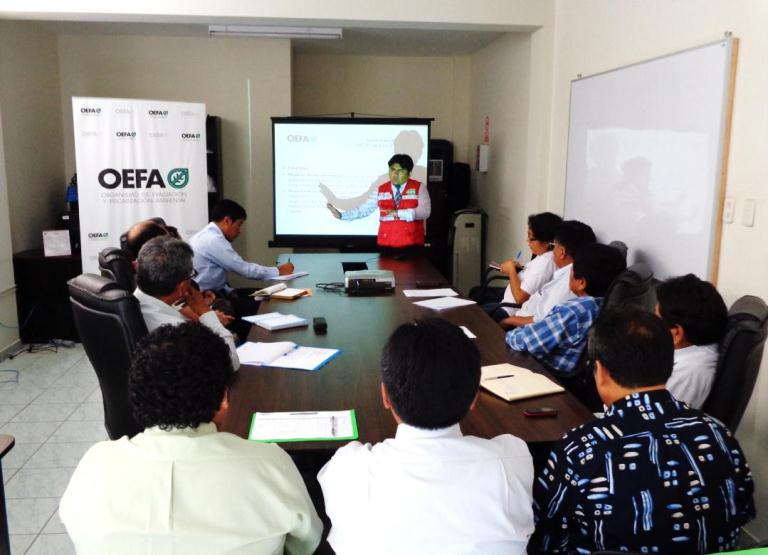 El oefa capacita a funcionarios del departamento de for Oficina nacional de evaluacion