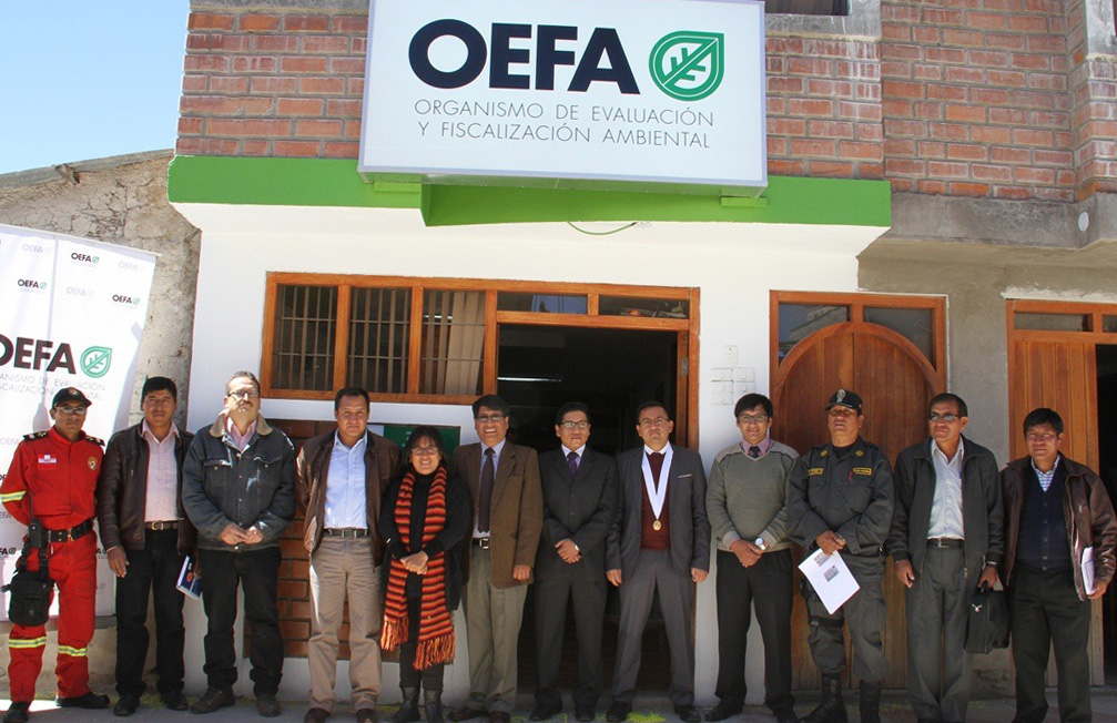 Oficina del OEFA en Espinar estará ubicada en el Jr. Cusco Nº 410.