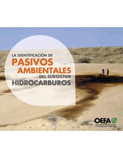 La identificación de pasivos ambientales del subsector hidrocarburos