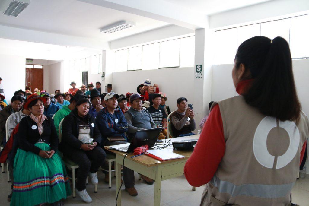 OEFA presentó plan de evaluación en proyecto minero San Gabriel en Moquegua