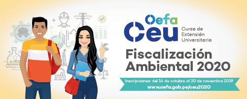 Curso de Extensión OEFA 2019