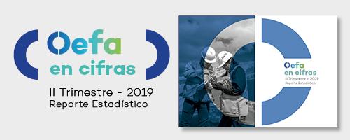 Reporte estadístico del segundo trimestre 2019 Oefa
