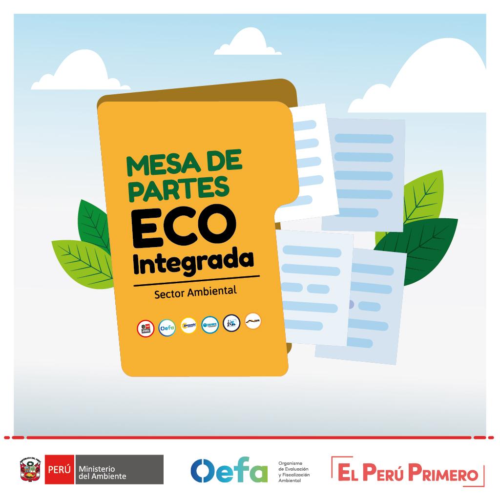 Mesa de partes Eco Integradas del sector Ambiente