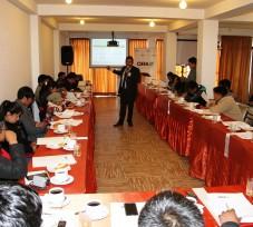 Periodistas del departamento de Puno participaron en el taller de capacitación organizado por el OEFA (Spanish)