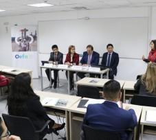 Especialistas del OEFA participaron en conversatorio internacional sobre fiscalización ambiental