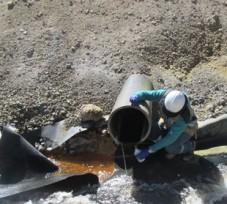 OEFA ordenó a Aruntani S.A.C. remediar el suelo y el lecho de la quebrada Apostoloni, por donde discurrió agua ácida en Moquegua
