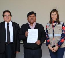 OEFA suscribe convenios interinstitucionales para la instalación de estaciones de monitoreo de calidad del aire en Ilo