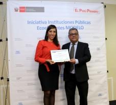 OEFA es reconocido como Institución Pública Ecoeficiente Modelo EcoIP 2018