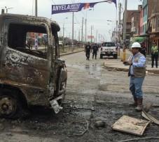 OEFA informa las acciones realizadas ante el incendio ocurrido en Villa El Salvador