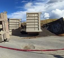 OEFA supervisa derrame de minerales ocasionado por la volcadura de un camión encapsulado en Cusco