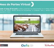 El OEFA habilita nueva plataforma de Mesa de Partes Virtual