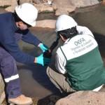 OEFA   Realizó Supervisión Ambiental en la Zona del Incidente del Minero Ducto Antamina-Cajacay por la Ruptura de la Tubería en la Estación de Válvulas VS-1