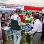 """OEFA participó en la X Jornada Cívica """"Módulo Perú"""" en Arequipa"""