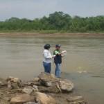 OEFA Y Gobierno Regional de Madre de Dios monitorean playas del río Tambopata