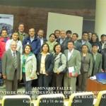 OEFA realizó en Cajamarca Seminario Taller sobre Fortalecimiento de Capacidades del Sistema Nacional de Evaluación y Fiscalización Ambiental