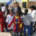 OEFA recibe el apoyo del Futbol Club Barcelona, para llevar a cabo Proyecto Infantil