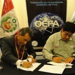 OEFA y Colegio de Economistas de Lima suscriben Convenio de Cooperación Interinstitucional