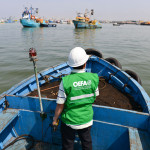 OEFA dio por cumplida medida cautelar impuesta a la empresa A.P. Pesca al verificar que dejó de verter sus efluentes en la Bahía El Ferrol en Chimbote