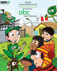 El ABC de la Fiscalización Ambiental para escolares en aimara