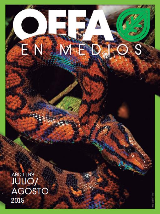 OEFA en Medios. Julio/Agosto 2015
