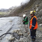 Acciones del OEFA logran que la minera Cori Puno S.A.C. paralice el transporte del agua proveniente de la relavera para evitar un impacto negativo al río Ananea