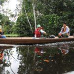 El OEFA supervisó los trabajos de limpieza y remediación de derrame del Oleoducto Norperuano en la localidad de Cuninico