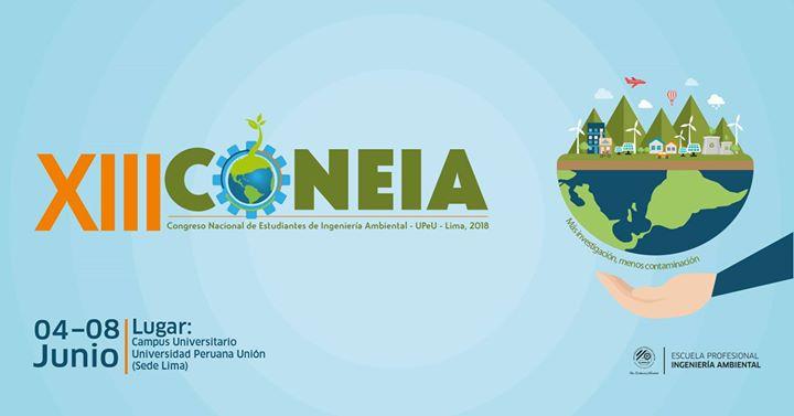 XIII Congreso Nacional de Estudiantes de Ingeniería Ambiental (XIII CONEIA)