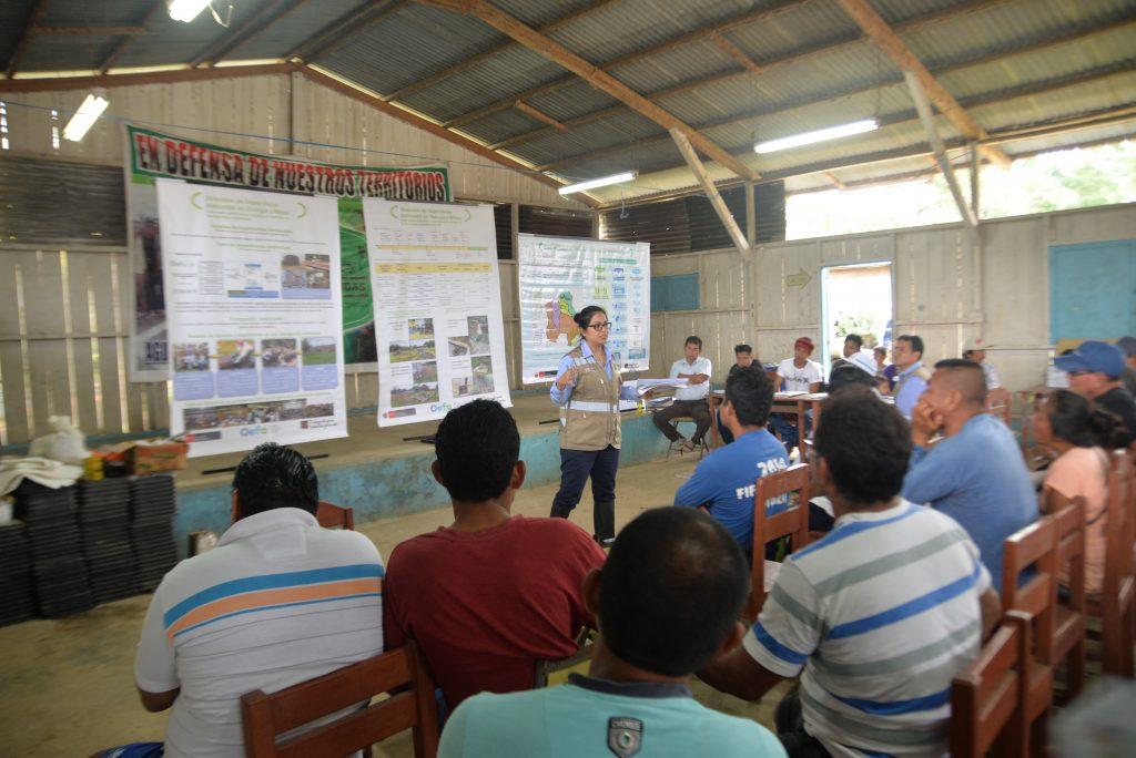 OEFA informó a comunidades Los Jardines y Andoas sobre proceso de identificación de sitios impactados en Loreto