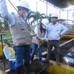 OEFA supervisa  el derrame de petróleo ocurrido en el distrito de Punchana en Loreto