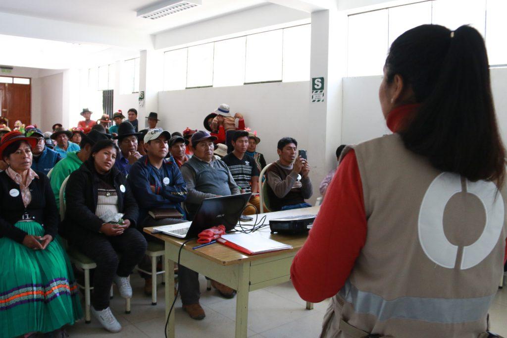 Cajamarca: Charla Educativa sobre Supervisión Ambiental