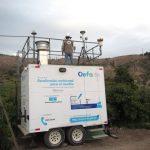 OEFA instala unidad de monitoreo continuo de calidad de aire en el área de influencia de la unidad minera Cuajone
