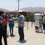 OEFA instala estaciones de monitoreo de calidad de aire en el área de influencia de la zona industrial del distrito de Ventanilla