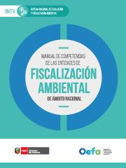 Manual de competencias de las entidades de fiscalización ambiental de ámbito nacional